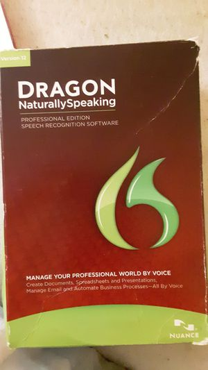 Dragon Naturally Speaking for Sale in Chandler, AZ