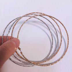 Large Hoops Earrings for Sale in Chelmsford,  MA