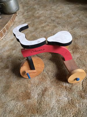 Hand Made Wooden Trike for Sale in Puyallup, WA