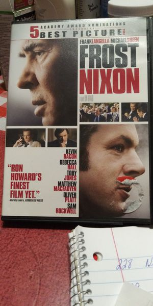 Frost Nixon dvd for Sale in Brainerd, MN