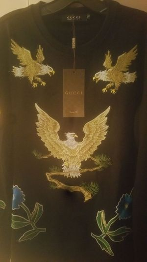 Gucci Love Me Tender embroidered eagle sweater size Lg-Xl for Sale in Tampa, FL