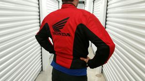 Men's medium Honda Racing motorcycle jacket for Sale in Austin, TX