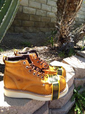 Mexican Steel Toe Work Boots-Bota de Casquillo de Mexico for Sale in Orange, CA
