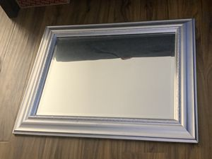Silver frame mirror for Sale in Alameda, CA
