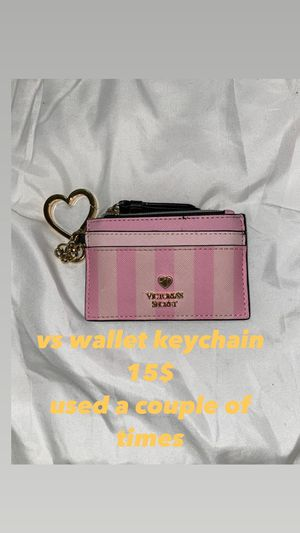 victorias secret wallet keychain for Sale in Los Angeles, CA