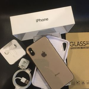 IPHONE XS UNLOCKED FOR ANY CARRIER COMPANY & WORLDWIDE 64GB for Sale in South El Monte, CA