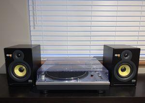 Complete Vinyl Audio Setup (Turntable + Speakers) for Sale in Seattle, WA