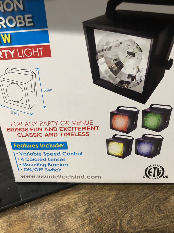 House Party Kit 4 individual Lighting Effects