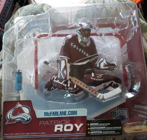 Super rare mcfarlane series 6 patric Roy for Sale in Pueblo West, CO
