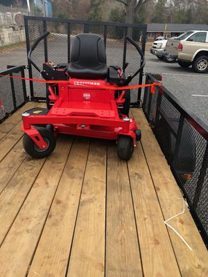 CRAFTSMAN Z510 20-HP V-twin Dual Hydrostatic 42-in Zero-turn Lawn Mower with Mulching Capability for Sale in Taylors, SC