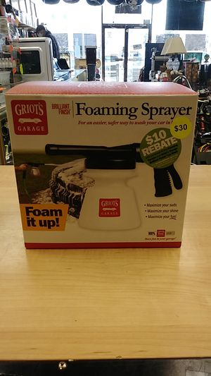 Griot's Garage Foaming Sprayer - New! for Sale in Springfield, PA