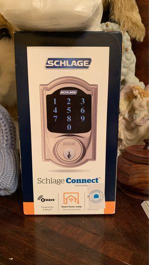 Touchscreen door lock Schlage for Sale in Kensington, MD
