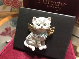 Cute!!! Angel Kitty Pin with Wings !!! for Sale in Gainesville, VA