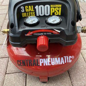 Air Compressor Central 100 PSI Almost New for Sale in Miami, FL