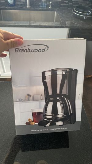 Brentwood coffee maker for Sale in Lorain, OH