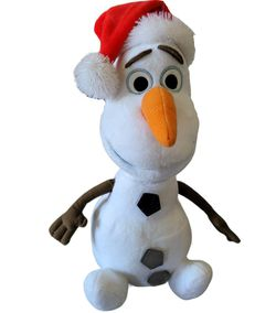 Talking Moving Santa Olaf From FROZEN for Sale in Deer Park, TX