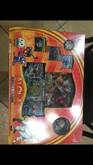 Pokemon tcg alola solgaleo collection box sealed for Sale in North Las Vegas, NV