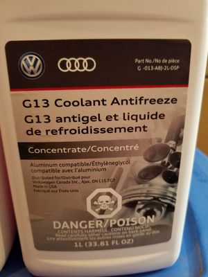 G13 coolant Antifreeze for Sale in Puyallup, WA