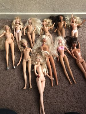 11 Barbie dolls $20 for all or $3.00. Each for Sale in Clovis, CA