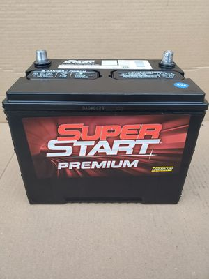 Car Battery Group Size 24R Super Start 2020- $60 With Core Exchange/ Bateria Para Carro Tamaño 24R Super Start 2020 for Sale in South Gate, CA