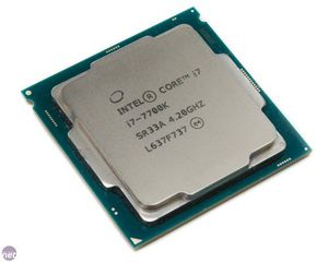 Intel i7-7700k 4 cores/ 8 threads Processor 4.2 GHz for Sale in Heidelberg, PA