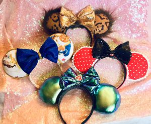 Disney inspired Minnie ears for Sale in Amityville, NY
