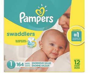 DIAPERS SIZE 1 pampers for Sale in Anaheim, CA