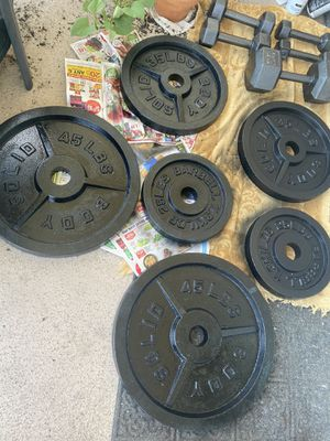 Barbell 2-Inch Olympic Grip Plate, Various Sizes for Sale in Chicago, IL