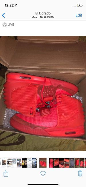 Nike Air Yeezy 2 Red October for Sale in Wichita, KS