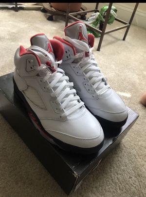 Retro Jordan 5's- SIZE 9 for Sale in Silver Spring, MD