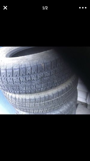 2 tires for trailer good conditions st 215/ 75R14 for Sale in Taylorsville, UT