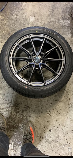 Enkei Rims with Falken Azenis for Sale in Laurel, MD