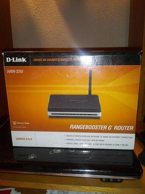 D-LINK Rangebooster G Router for Sale in Lancaster, OH