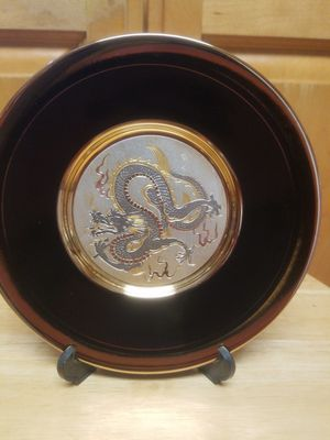 Japanese Dragon Decorative Plate for Sale in San Jose, CA