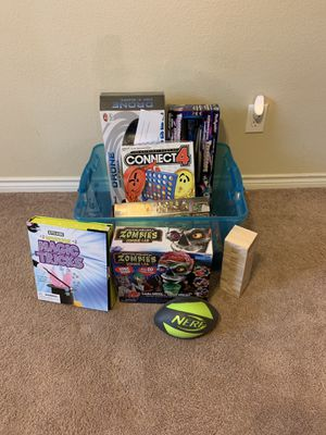 New and used toys/games. for Sale in Heath, TX