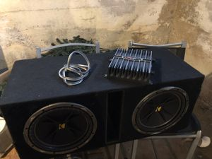 Speakers and amp for Sale in Cranston, RI