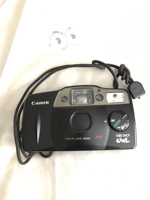 Cannon 35mm sure shot owl for Sale in Annandale, VA