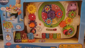 BRAND NEW! Never opened! V-tech GearZooz 2-in-1 Jungle Friends Gear Park ages 1 ¹/2-4 yrs. for Sale in Brandon, MS