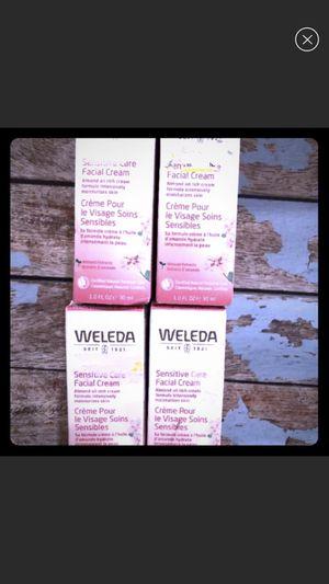 Weleda almond oil facial cream sensitive skin care for Sale in Jurupa Valley, CA