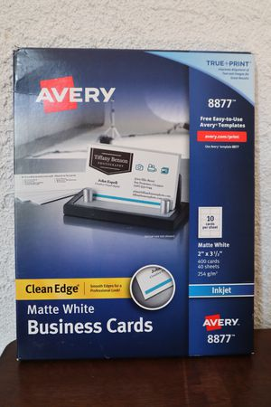 Avery Printable Business Cards for Sale in Pasadena, CA