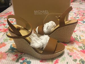 New Authentic Michael Kors Women's Wedges Size 9 for Sale in Norwalk, CA