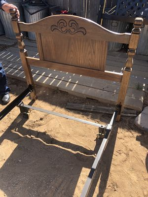 Twin bed frame $30 for Sale in Albuquerque, NM