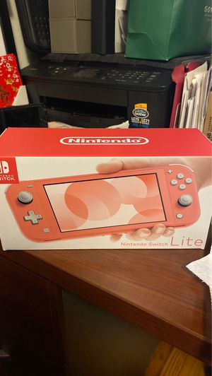 NEW Nintendo Switch Lite Coral for Sale in SAN FRANCISCO, CA