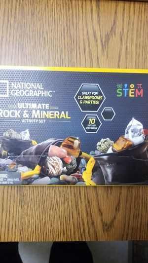 National geographic rocks and minerals for Sale in Bellflower, CA