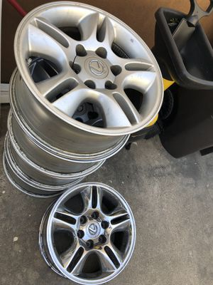 Rims for Lexus GX470 for Sale in Fountain Valley, CA
