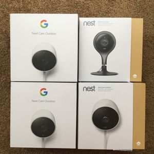 Nest Camera Boxes Indoor And Outdoor for Sale in Jackson Township, NJ