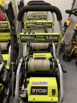 RYOBI 2000 PSI ELECTRIC PRESSURE WASHER $130 for Sale in Corona, CA