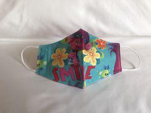 Kid face mask, kids, face masks, trolls for Sale in Westland, MI