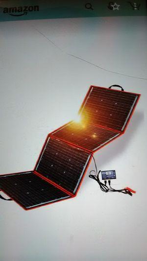 Dokio foldable 150w solar panel for Sale in Phoenix, AZ