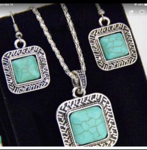 Vintage Antique Turquoise Jewelry Set for Sale in Orlando, FL